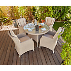 more details on Heart of House Argenta Rattan Effect 4 Seater Patio Set.