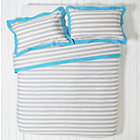 more details on ColourMatch Highlight Stripe Bedding Set - Double.