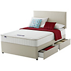 more details on Silentnight Wilmslow Memory Small Double 4 Drw Divan Bed.