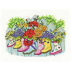 more details on Blossoming Wellies Cross Stitch Kit.