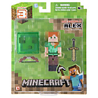 more details on Minecraft Alex Action Figure - 3 inch.