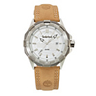 more details on Timberland Men's Paugus Silver Dial Leather Strap Watch.