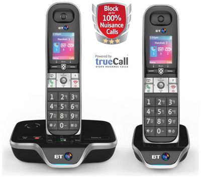 BT 8600 Cordless Telephone with Answer Machine - Twin