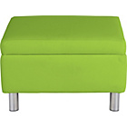 more details on ColourMatch Moda Fabric Footstool - Apple Green.