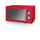 more details on Swan SM22070RN Standard Microwave - Red.