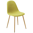 more details on Hygena Beni Pair of Green Dining Chairs.
