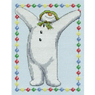 more details on The Snowman and Snowdog Celebration Cross Stitch Kit.