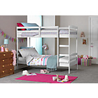 more details on HOME Josie Shorty Bunk Bed with 2 Elliott Mattresses - White