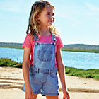 more details on Cherokee Girls' Denim Shorts Dungarees.