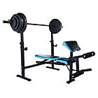 more details on WOW Men's Health Olympic Folding Workout Bench