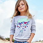 more details on Cherokee Girls Pretty Umbrella Graphic Sweater.