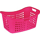 more details on ColourMatch Laundry Basket - Funky Fuchsia.