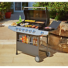 more details on Premium 6 Burner Gas BBQ with Side Burner.