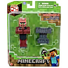 more details on Minecraft Blacksmith Villager Action Figure - 3 inch.
