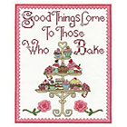 more details on Good Things Come to Those Who Bake Cross Stitch Kit.