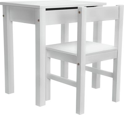 Buy Home Kids Scandinavia Desk And Chair White At Argos
