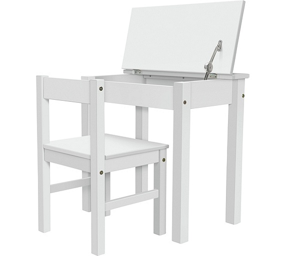 Buy home kids scandinavia desk and chair white at your online shop for children Argos home office furniture uk