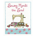more details on Sewing Mends the Soul Cross Stitch Kit.