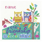 more details on Friendship Cross Stitch Kit.