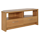 more details on Venice Large 2 Drawer Corner TV Unit - Oak Effect.