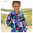 more details on Cherokee Girls Quilted Flower Fashion Jacke.