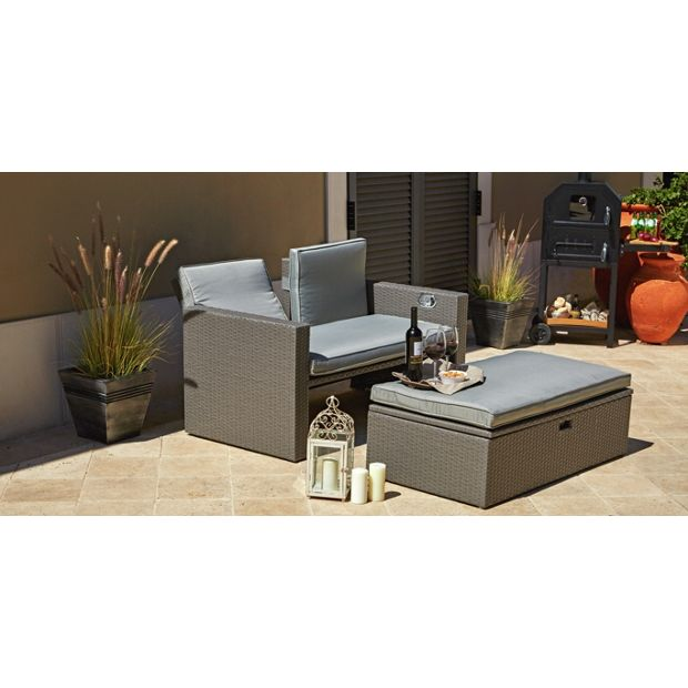 Buy Rattan Effect Recliner Sofa At Your Online Shop For Garden Chairs And Sun