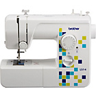 more details on Brother LS14 Manual Stitch Sewing Machine - White.