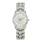 more details on Spirit Lux Ladies' Stone Set Silver Dial Bracelet Watch.