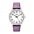 more details on Limit Ladies' White Dial Purple Strap Watch.