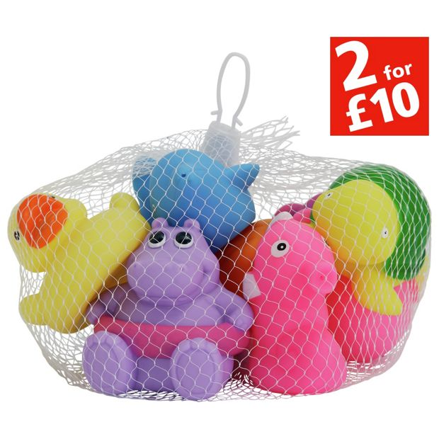 buy chad valley sea friends bath squirters 10 pack at your online shop for baby. Black Bedroom Furniture Sets. Home Design Ideas