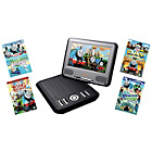 more details on Lava 7 inch Portable DVD Player - Thomas Bundle.