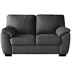 more details on Collection Milano 2 Seater Fabric Sofa - Charcoal.