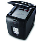 more details on Rexel AutoPlus 100x 100 sheet 26 Litre Mico Cut Shredder.