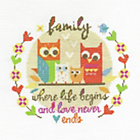 more details on Family Cross Stitch Kit.