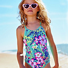 more details on Cherokee Girls' Floral Print Swimsuit.