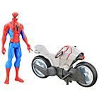 more details on Spider-Man Titan figure with Vehicle.