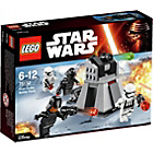 more details on LEGO Star Wars First Order Battle Pack.