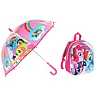 more details on My Little Pony 3D Backpack and Umbrella.