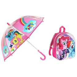 My Little Pony 3D Backpack and Umbrella