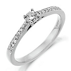 more details on Platinum 0.25ct tw Diamond Solitaire DSS Ring.
