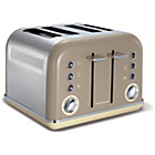 more details on Morphy Richards 242008 Accents Four Slice Toaster - Barley.