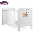 more details on Disney Winnie the Pooh & Friends Cot Bed - White.