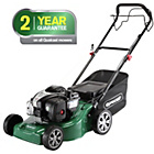 more details on Qualcast 41cm Wide Self Propelled Petrol Lawnmower - 125CC.