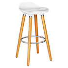 more details on Hygena Bay Bar Stool - White.