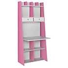 more details on Auckland Wall Unit Desk - White and Pink.