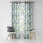 more details on ColourMatch Geo Unlined Eyelet Curtains - 168x228cm.