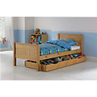 more details on Cody Pine Single Bed with Storage & Ashley Mattress.