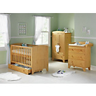 more details on BabyStart New Oxford 5 Piece Furniture Set - Pine.