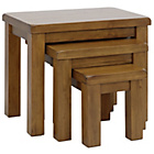 more details on Collection Arizona Nest of 3 Tables - Solid Pine.