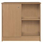 more details on Calgary Storage Cupboard - Oak Effect.